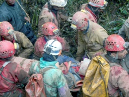 12 days it took rescuers in order to save the Spanish caver
