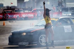 Drift competition in Chelyabinsk