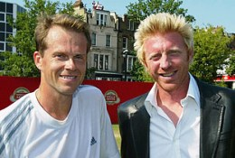 Former tennis great rivalry continues