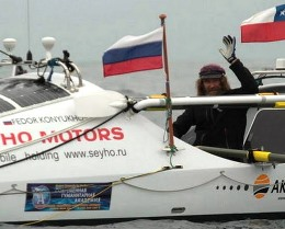 Fyodor Konyukhov expedition across the Pacific Ocean interrupted