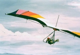 Hang gliding free flight and personal wings for each