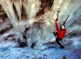 Ice climbing approached Olympic sport