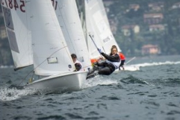 Juniors three countries compete in sailing on Garda