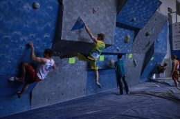 Kicked off the fifth stage of the Russian Cup Sport Climbing