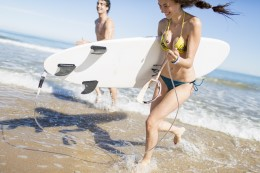 Learning to surf - the basic rules the best places