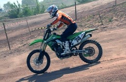 March 21 at the Kalinin district held spring motocross