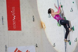 Munich World Cup rock climbing