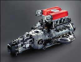 New engines for Formula 1 cars