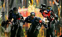 Paintball is becoming popular among Muscovites