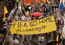 Protests in Sao Paulo threaten World Cup