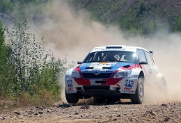 Rally Yuzhny Ural in the status of the Russian Championship