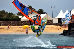 Results of the championship EFPT Lanzarote windsurfing