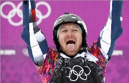 Russia in the mens snowboarding wins silver