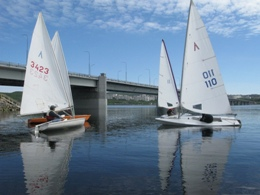Sailing competition Murmansk mile