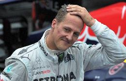 Schumacher was driving at a professional skier