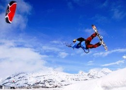 Snowkite Championship will be held in March 2014