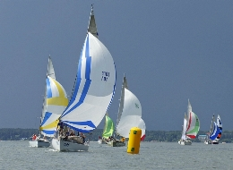Started 3 stage Sailing Cup of Siberia 2013