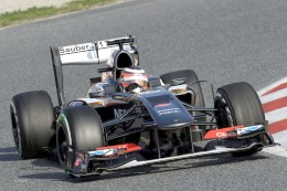 Team F1 Force India has demonstrated its new car