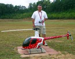 The capabilities of modern radio-controlled helicopter 1