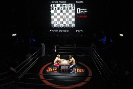 There is a new sport - chess boxing