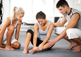 Treatment and prevention of diseases of the joints and sprains in athletes