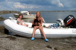 What equipment is needed for boating