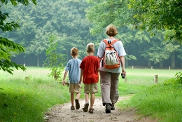 What to take a hike with the kids