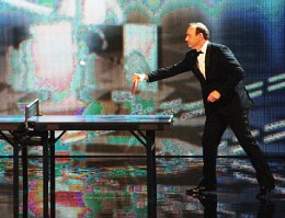 Why Hollywood stars choose table tennis
