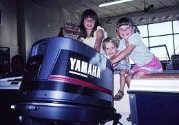 Yamaha gets the award for the best the outboard motor