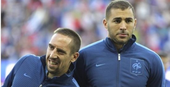 French court dropped charges against Ribery and Benzema2