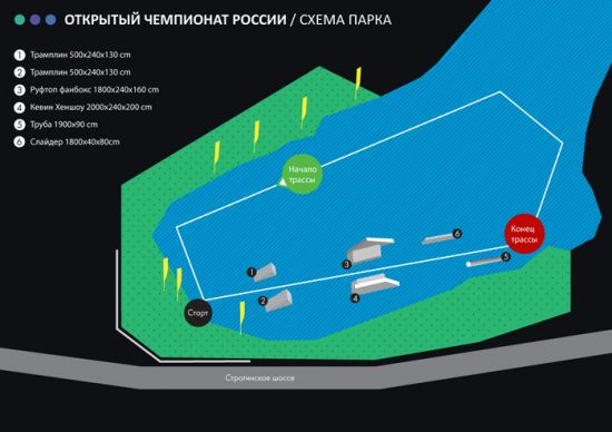 Moscow holds the championship wakeboarding and veykskaytingu 2