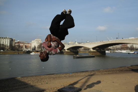 Parkour on the South Bank 2ef95