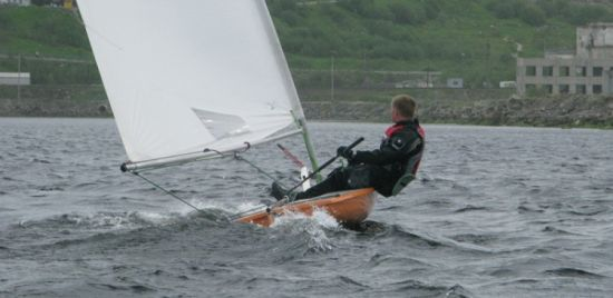 Sailing competition Murmansk mile1