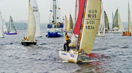 Started 3 stage Sailing Cup of Siberia 2013 1