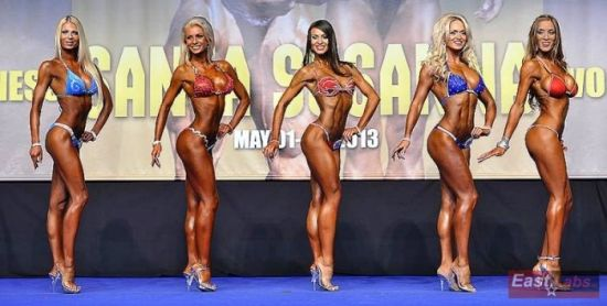 Ukrainian won the championship in the fitness bikini1