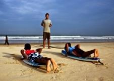 Особенности обучения серфингу